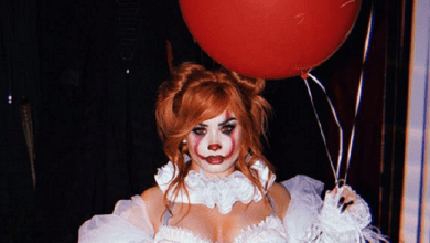 Photo of Demi Lovato recrea el look del payaso de «It» para su fiesta de Halloween.