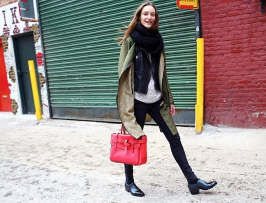3.1 Phillip Lim coat, Reed Krakoff bag