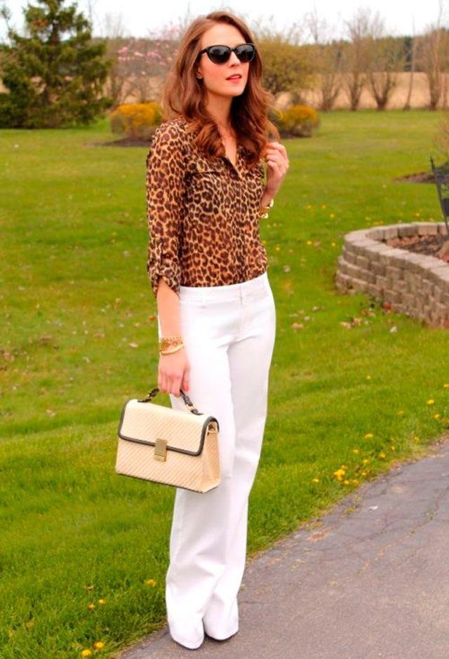 ed426a8735 7 formas de llevar un pantalón blanco en invierno! – El Closet de ...