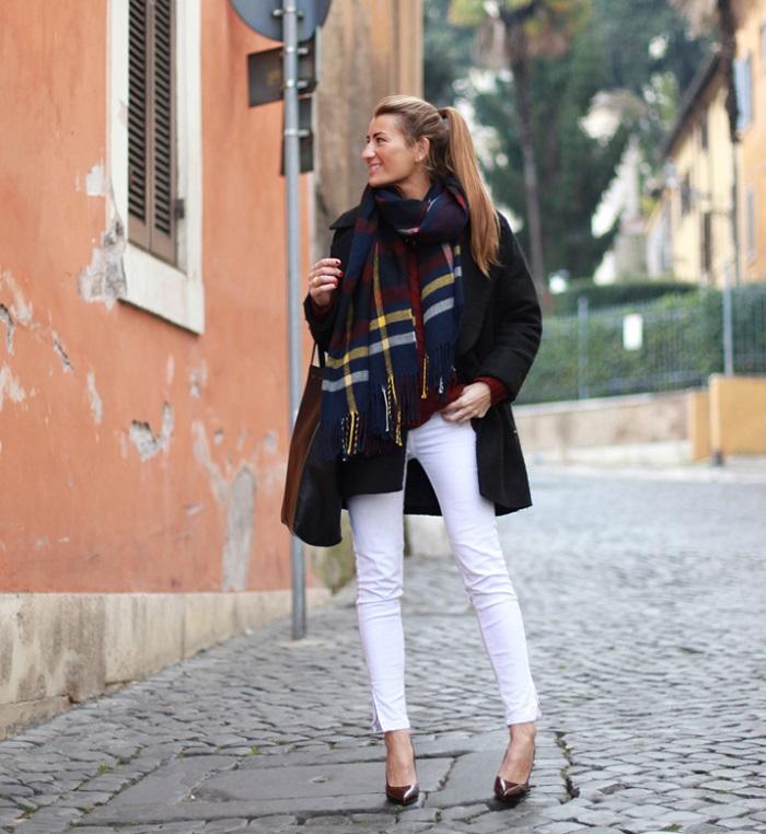 7 Invierno Closet Un El – Formas Pantalón De Llevar Blanco En RwRqrS