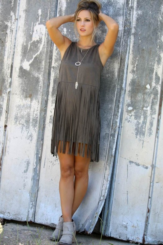 dark-gray-suede-fringe-decor-sleeveless-dress-022741_1