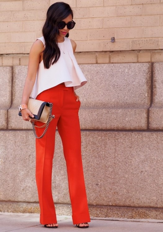 girl-gick-red-white-chic-outfit