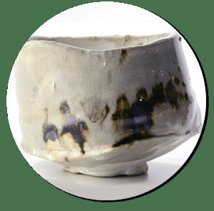 Chawan para ceremonia del té japonesa