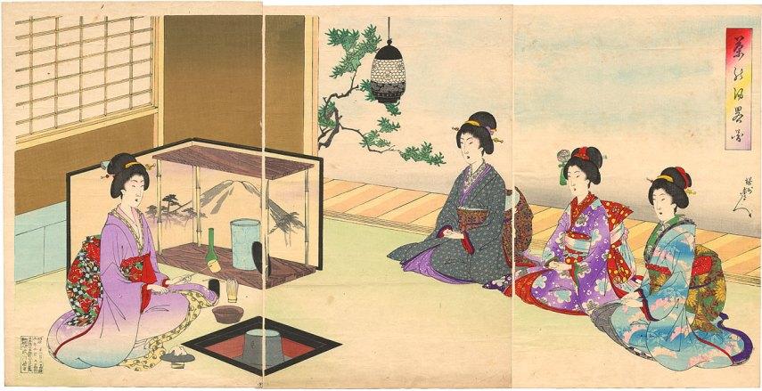 ceremonia del té japonesa ¿Cuales son las premisas?