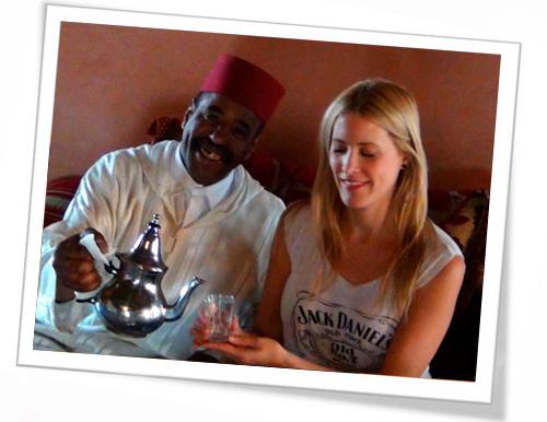 té en Marruecos
