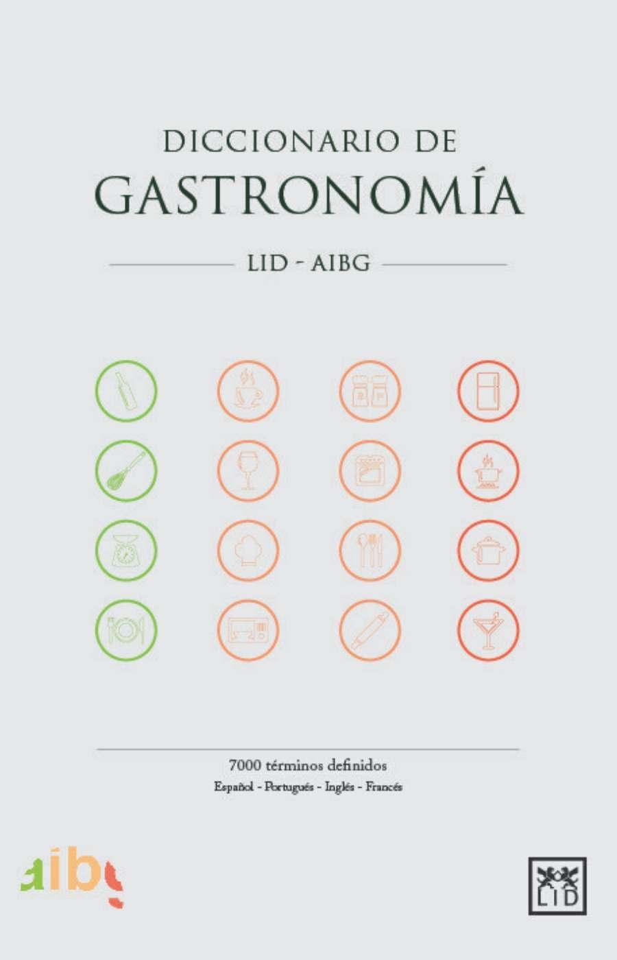 Diccionario de gastronomía 2