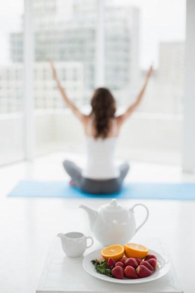 Meditar para tu ritual 5 tazas de té