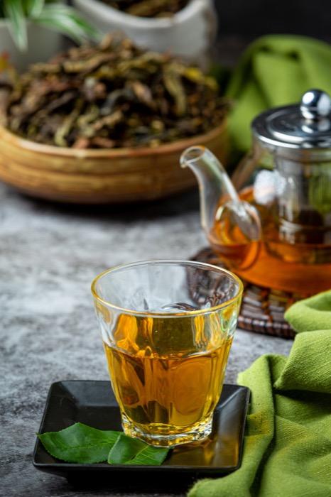 ervas do chá: erros ao prerarar-lo