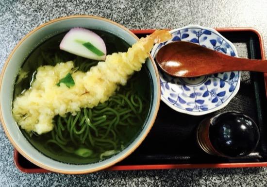 Udon de té verde