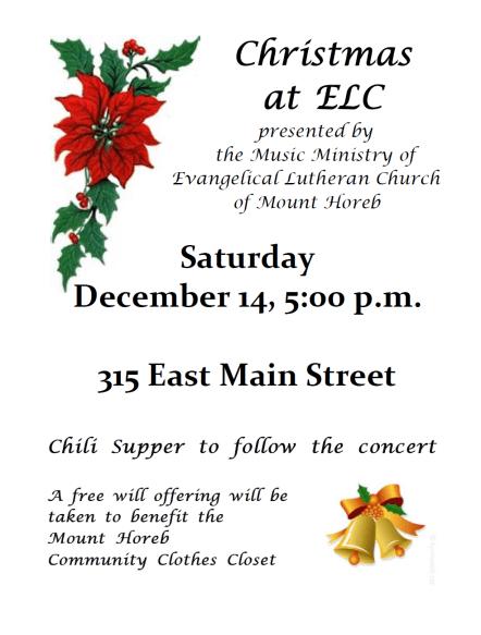 Christmas at ELC