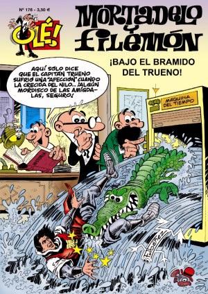 El primer numero tiene como protagonistas a los inefables MORTADELO Y FILEMON