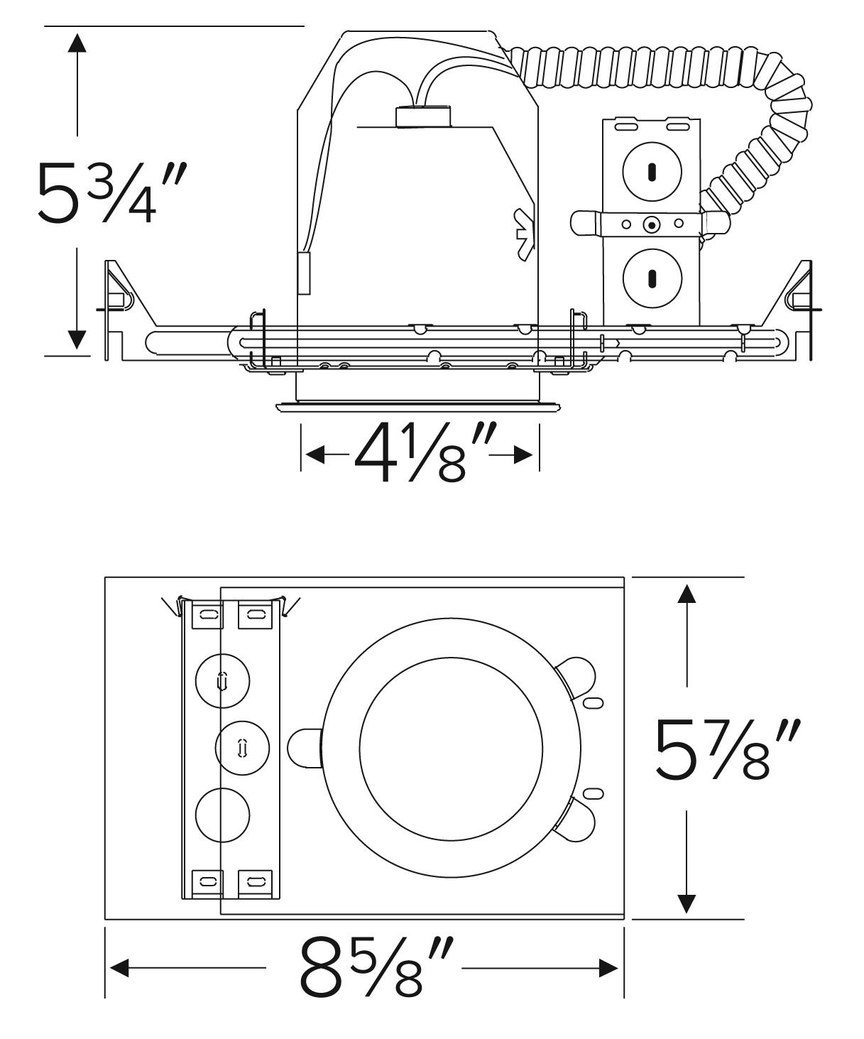 4 Airtight Ic Housing With Gu24 Base Socket