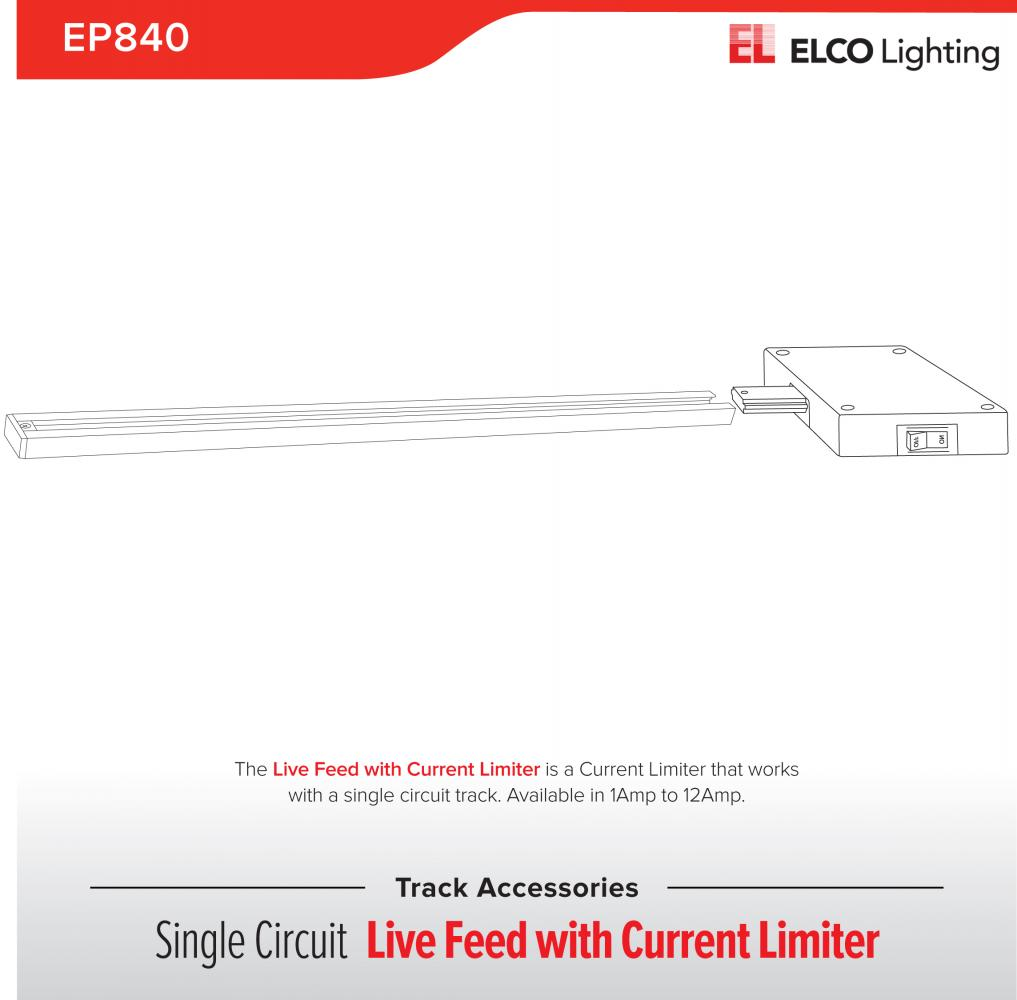 current limiter track accessory elco