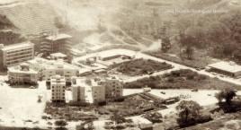 Vista aérea inicio de la construcción de la urbanización Colinas de Bello Monte