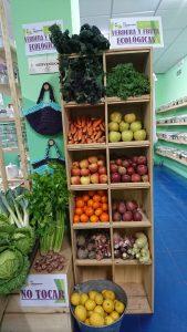 Verdura y fruta ecológica