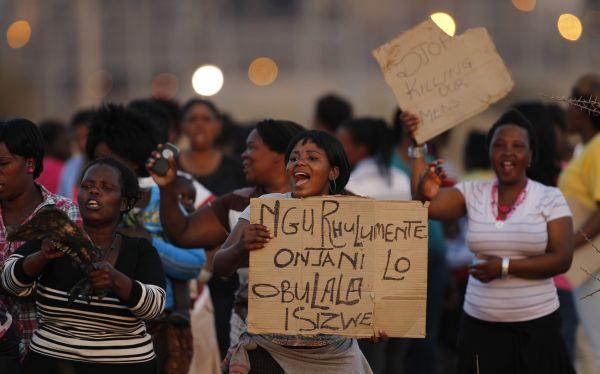 Sudáfrica, Conflictos mineros