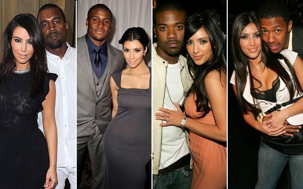 Kim Kardashian, todos los amores de una bomba sexy que se convertirá en madre