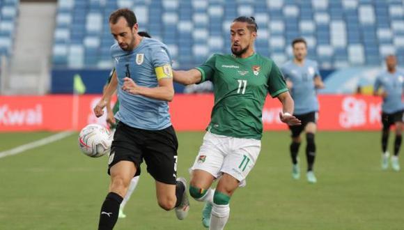 Uruguay vs. Bolivia se miden en la jornada seis de las Eliminatorias Qatar 2022   Foto: EFE.