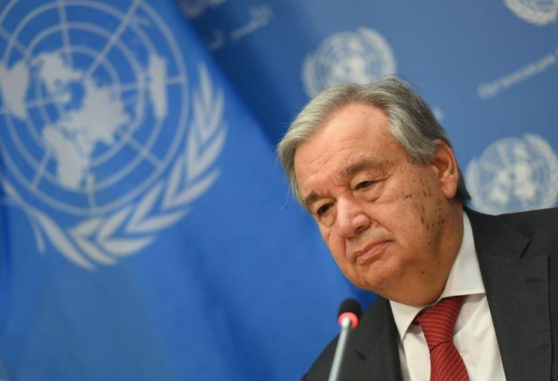 """El secretario general de la ONU, António Guterres, criticó la decisión de Trump y dijo que ahora """"no es el momento"""" para cortar fondos a la OMS. (AFP / Angela Weiss)."""