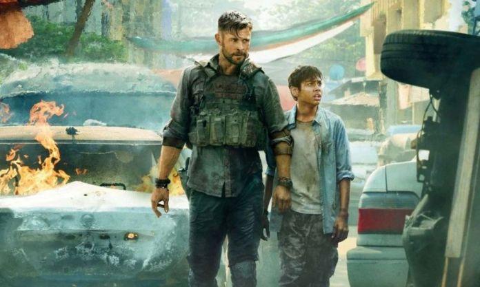 Chris Hemsworth is in a series full of adrenaline in 'Tyler Rake' (Photo: Netflix)