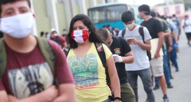 Coronavirus Perú   Todas las personas que salgan a la calle tendrán que usar mascarillas. (Foto: GEC)