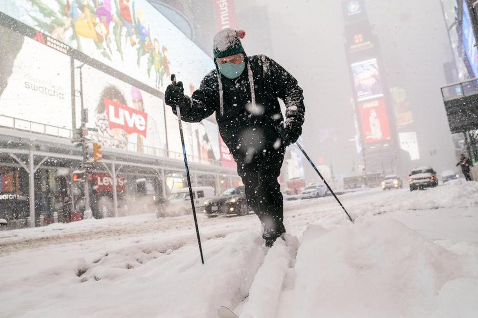 Resultado de imagen de estado de emergencia en nueva york por nevada