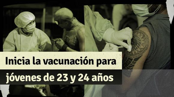 COVID-19: Was Sie über die Impfung von 23- und 24-Jährigen in Lima und Callao wissen sollten