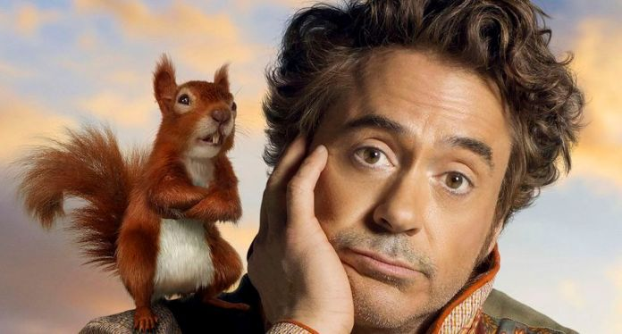 Robert Downey Jr. in Dolittle.