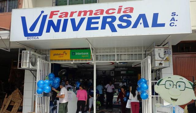 Farmacia Universal began three weeks ago the commercial sale, with a prescription, of medical cannabis.  More pharmacies would be added in the coming days (Photo: Peru Retail)