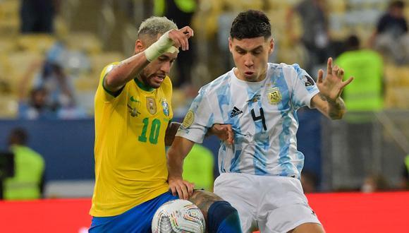 El Superclásico Argentina vs Brasil se juega en Sao Paulo por la sexta fecha de las Eliminatorias. Conoce cómo y dónde ver este y otros partidos de fútbol en vivo y en directo. (Foto: AFP)
