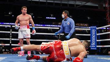 Canelo venció a Yirildim por TKO y ahora se enfrentará a Billy Joe Saunders