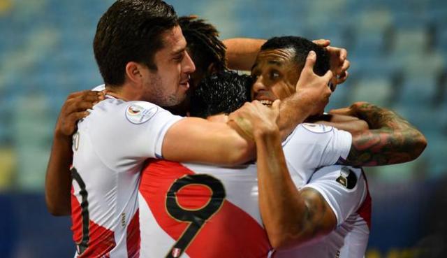 Perú y Paraguay chocaron por los cuartos de final de la Copa América 2021 | Foto: AFP