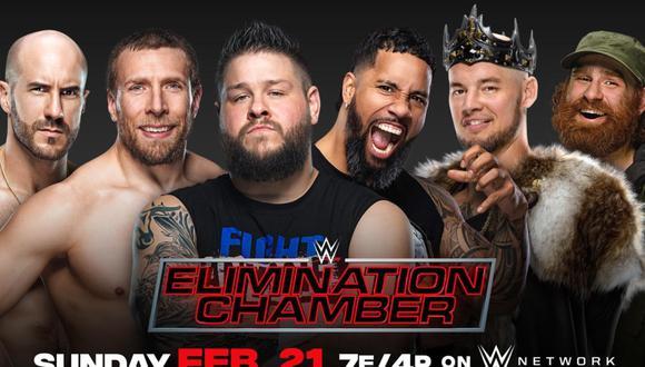 WWE Elimination Chamber 2021: The Elimination Chamber EN VIVO y EN VIVO desde Tropicana Field