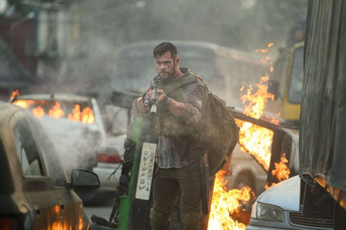 Tyler Rake is a mercenary who was hired to rescue a child in Bangladesh (Photo: Netflix)