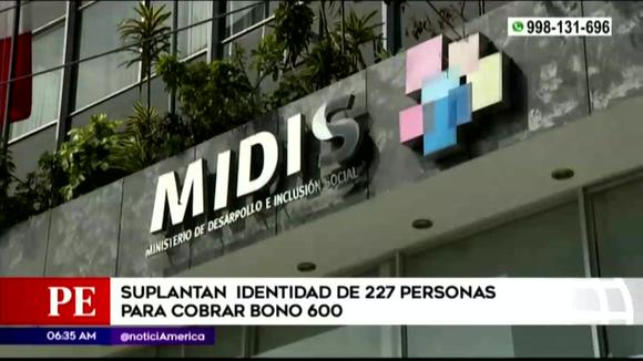 Bonus 600: more than 200 people were victims of identity theft, according to Midis