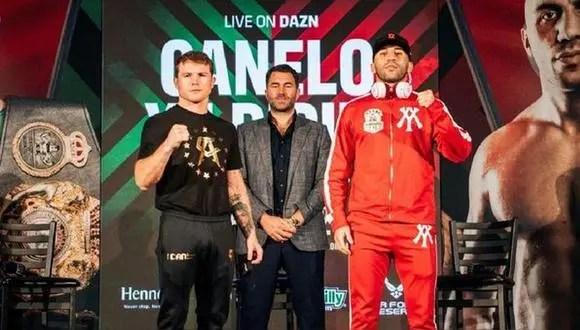 Canelo Álvarez vs.  Yildirim: Ves las caras por el título de peso súper mediano del CMB desde el Hard Rock Stadium.  (Foto: Instagram)