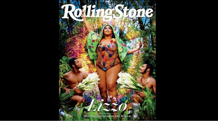 This year started with the right foot. The prestigious photographer David LaChapelle was commissioned to pourtray even his young bride for the cover of Rolling Stone magazine.