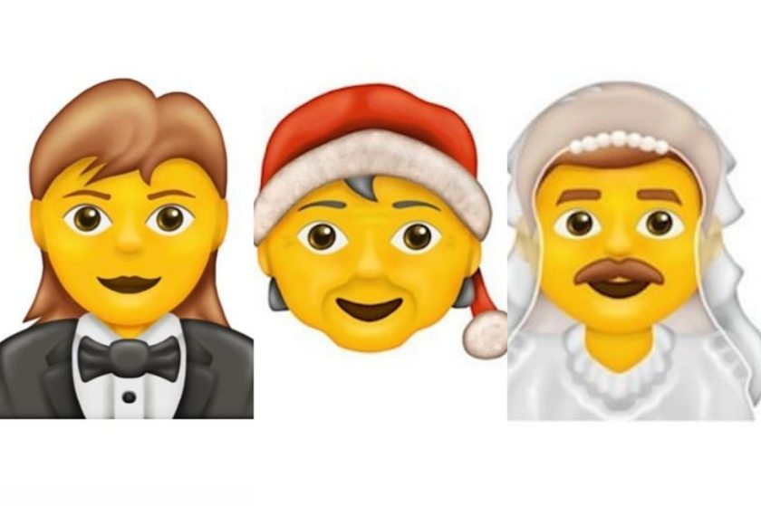 The Santa Claus emoji without a defined gender and the man dressed as a wedding, among others, arrive on WhatsApp in 2020. (Photo: Emojipedia)