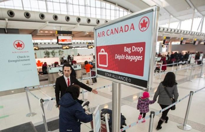 Air Canada has canceled several flights due to the pandemic.