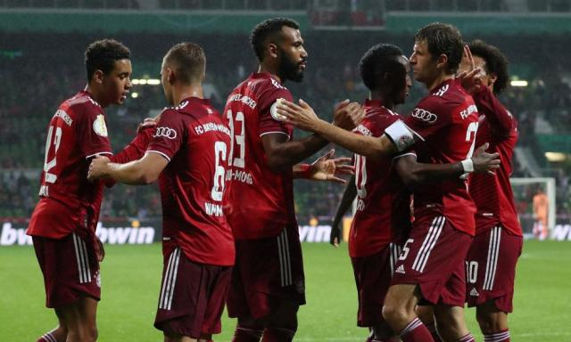 Bayern Munich vs.  Bremer SV: the images of the 'Bavarian' victory in the German Cup    Photo: EFE