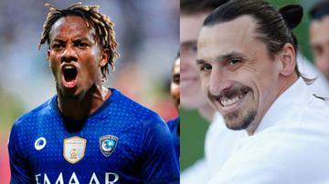 André Carrillo es comparado con Zlatan Ibrahimovic tras su gol de taco |  VIDEO