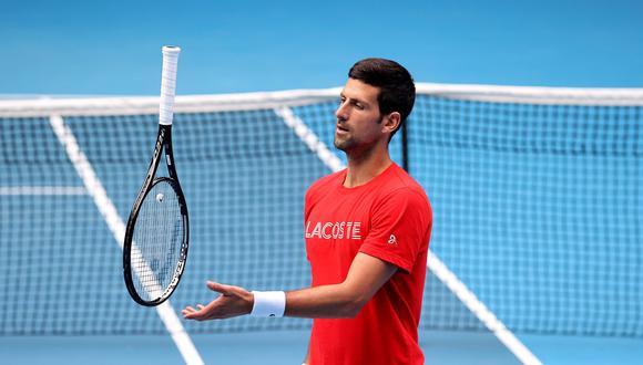 Nole busca su noveno título en Australia.  Ha ganado las ocho finales que ha jugado.  (Foto: AFP)