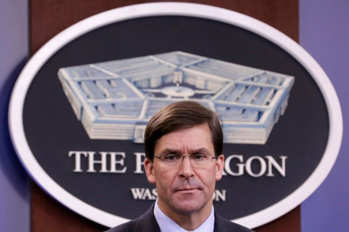 Mark Esper, United States Secretary of Defense. (REUTERS / Yuri Gripas / File Photo).