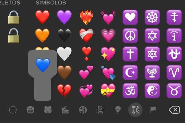 Find out what the blue heart really means and when to use it on WhatsApp.  (Photo: MAG)