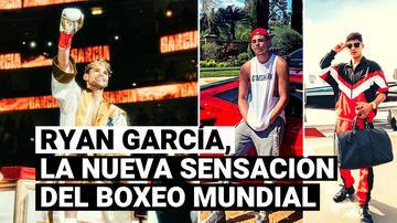 Ryan García, la nueva sensación del boxeo y ganador del título de peso ligero del Consejo Mundial