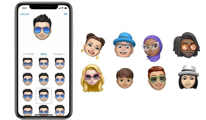 Los memojis se pueden crear desde la app nativa de los iPhone y así convertir tu rostro en emoticón. (Foto: Apple)