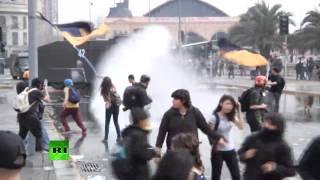 enfrentamientos chile