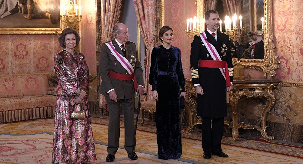 Un duro trance para la monarquía española