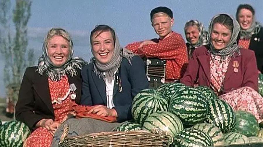 Los cosacos de Kubán