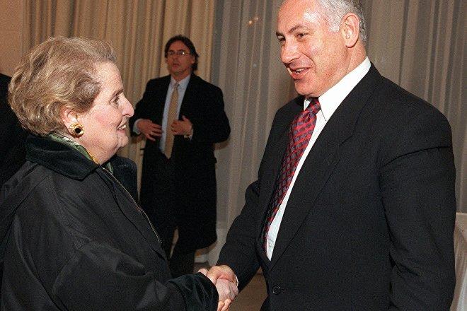 Madeleine Albright (izda.), secretaria de Estado de EEUU entre 1997 y 2001 (archivo)
